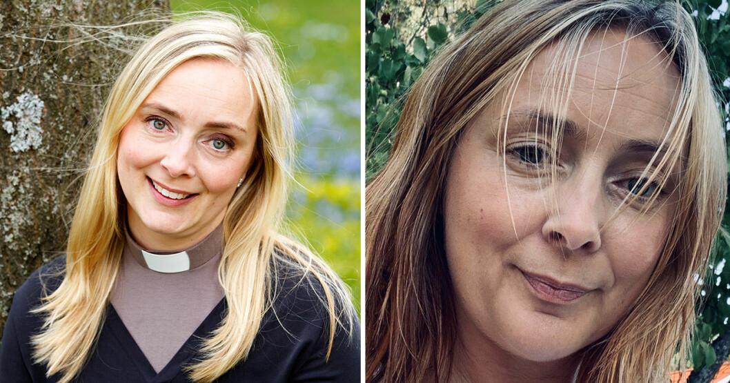 Kristina Lethin i SVT:s Tro, hopp och kärlek och hur hon ser ut i dag.