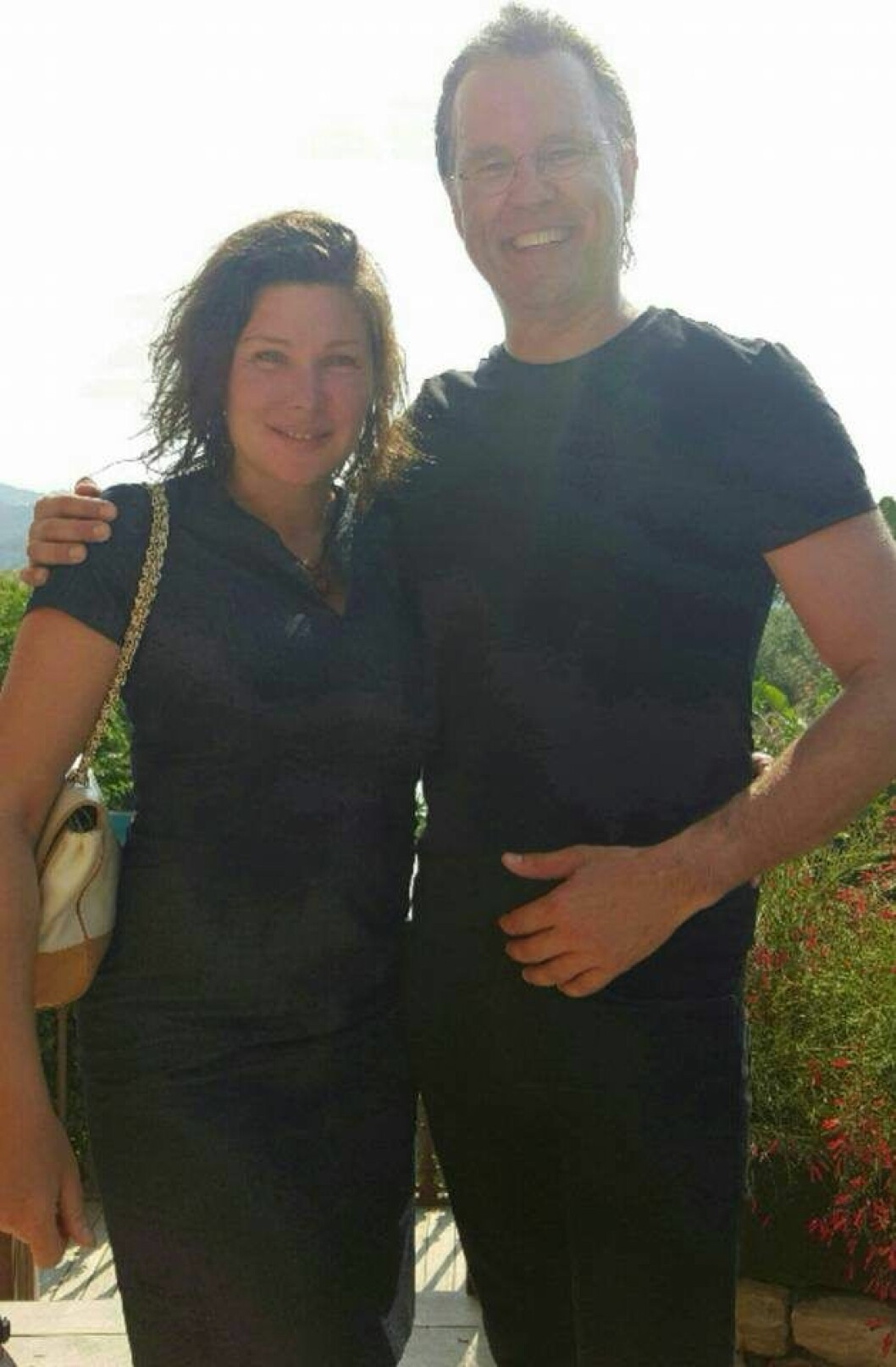 Dominika Peczynski och Anders Borg. Foto: Privat