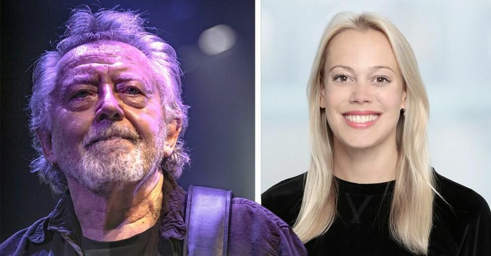 Ninna Prage och Ulf Lundell