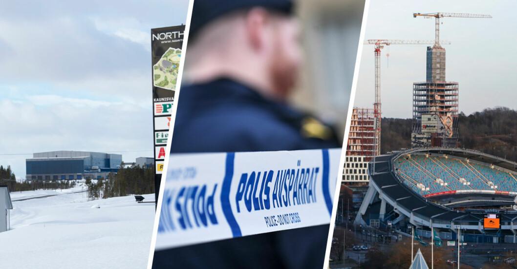 Sveriges farligaste kommun har utsätts.