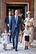Brittiska prins Louis dop i juli 2018.