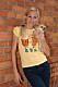 Josefin med älskade hunden Annelie
