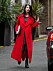 EXCLUSIVE: **PREMIUM EXCLUSIVE RATES APPLY**MUST AGREE FEES** Amal Clooney is seen looking radiant whilst out and about in London. The human rights lawyer looked amazing in a long red wool coat with her pregnant bump on show. Clooney and husband George recently announced that they are expecting twins. Pictured: Amal Clooney Ref: SPL1447636 210217 EXCLUSIVE Picture by: W8 Media / Splash News Splash News and Pictures Los Angeles:310-821-2666 New York: 212-619-2666 London: 870-934-2666 photodesk@splashnews.com IBL