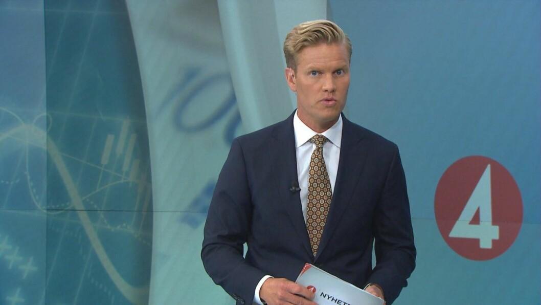 Martin Järborg i TV4.