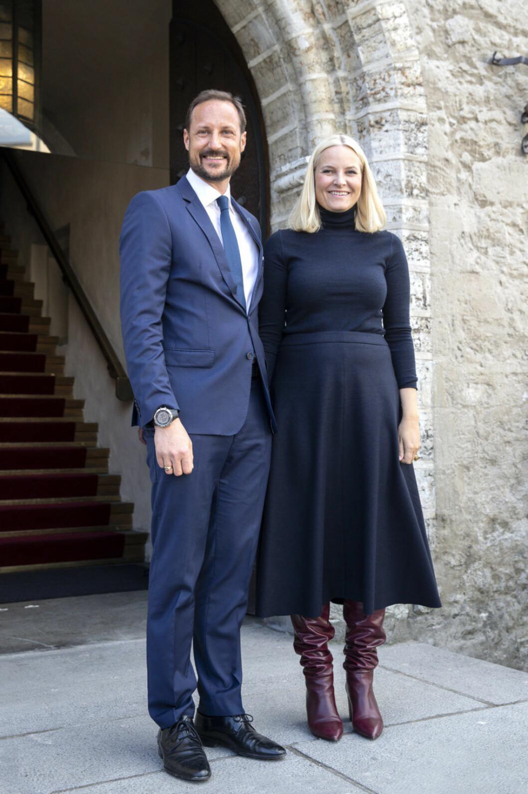 Mette-Marit och Haakon