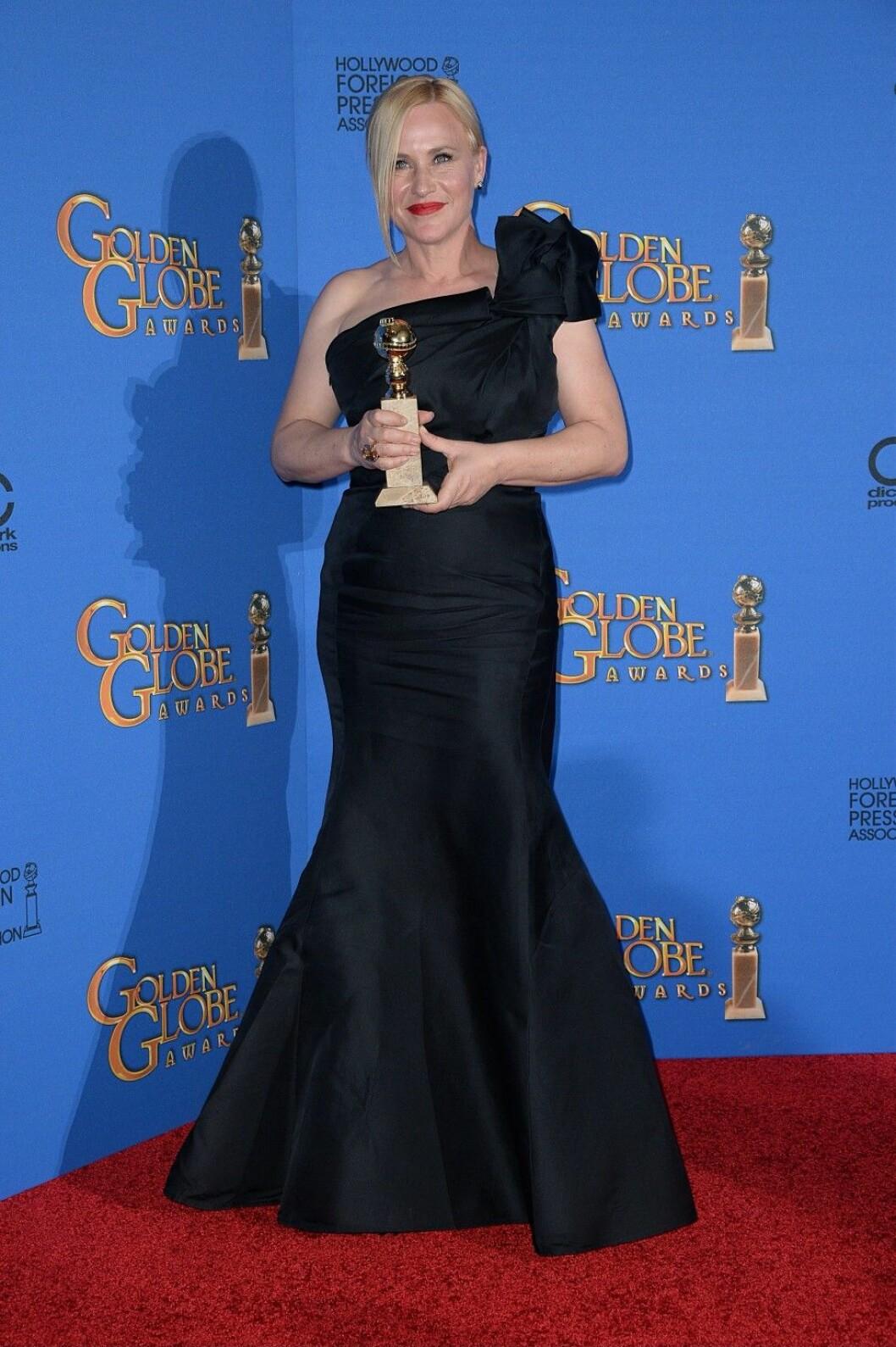 72nd Golden Globes - Press Room