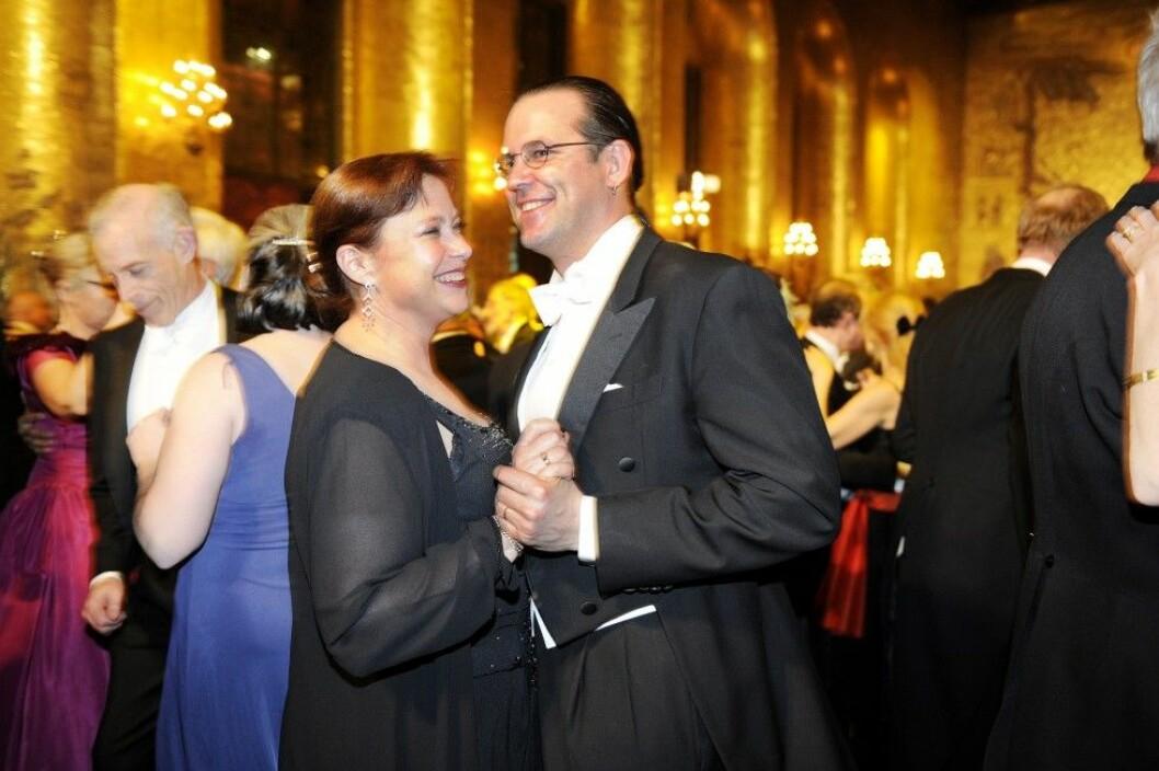 Susanna och Anders har varit gifta sedan 1994. Foto: IBL