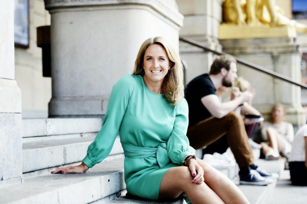 Författaren Denise Rudberg är också en favorit. Foto: IBL