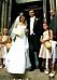 Så här såg det ut när Charlotte Perrelli gifte sig med Nicola Perrelli 2003. Foto: IBL