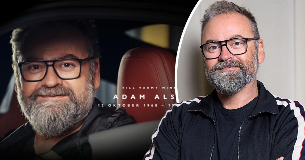 Familjens nya beslut efter Adam Alsings plötsliga död – bryter tystnaden