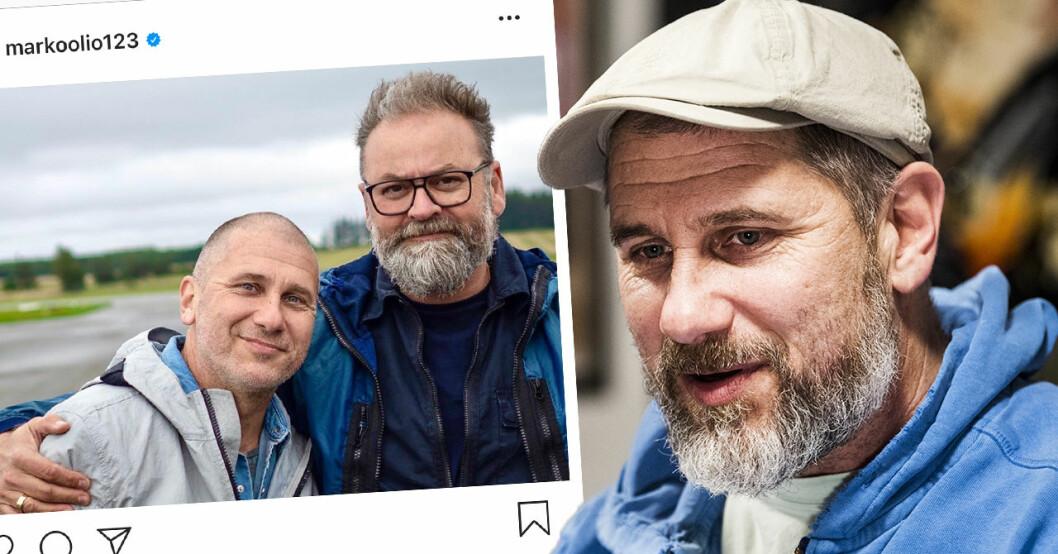Marko Markoolio Lehtosalos stora sorg efter Adam Alsings bortgång