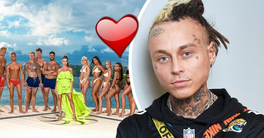 Adam Linard avslöjar kärlekslyckan i Paradise hotel 2020