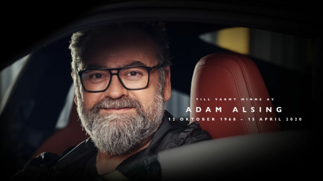 Adam Alsing Top Gear Sverige
