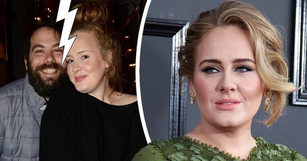 Adele om karriärbeslutet efter skilsmässan.