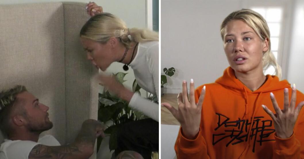 Adrian Montin och Sara Gustafsson