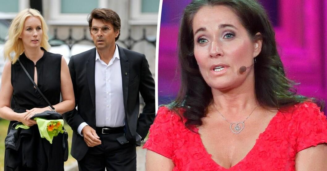 Så är Agneta Sjödins relation med Niklas Strömstedt