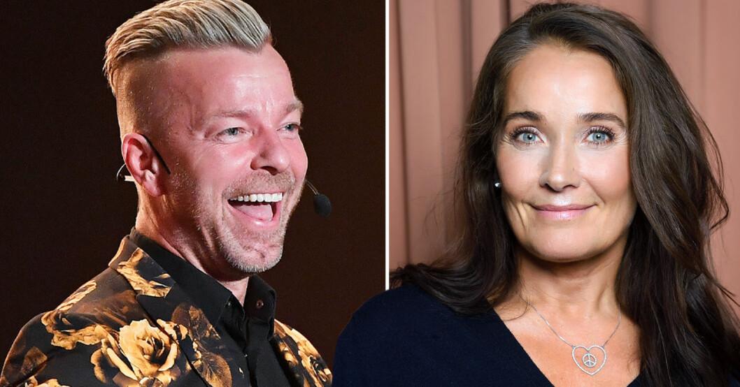 Casper Janebrink och Agneta Sjödin