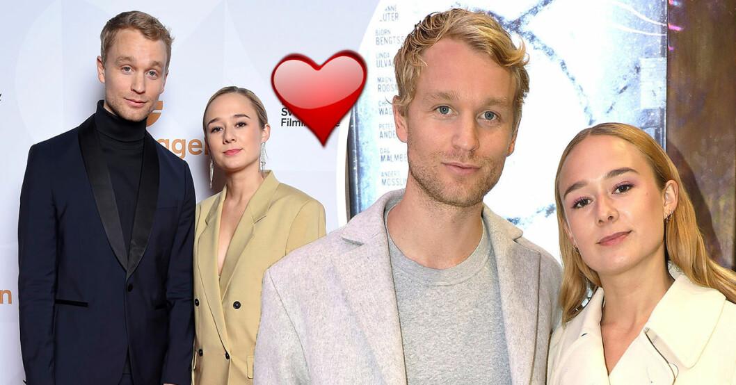 Alba August om kärlekslyckan med Björn Gustafsson