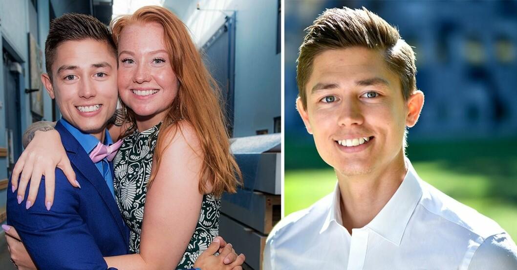 Alexander och Caroline Hermansson