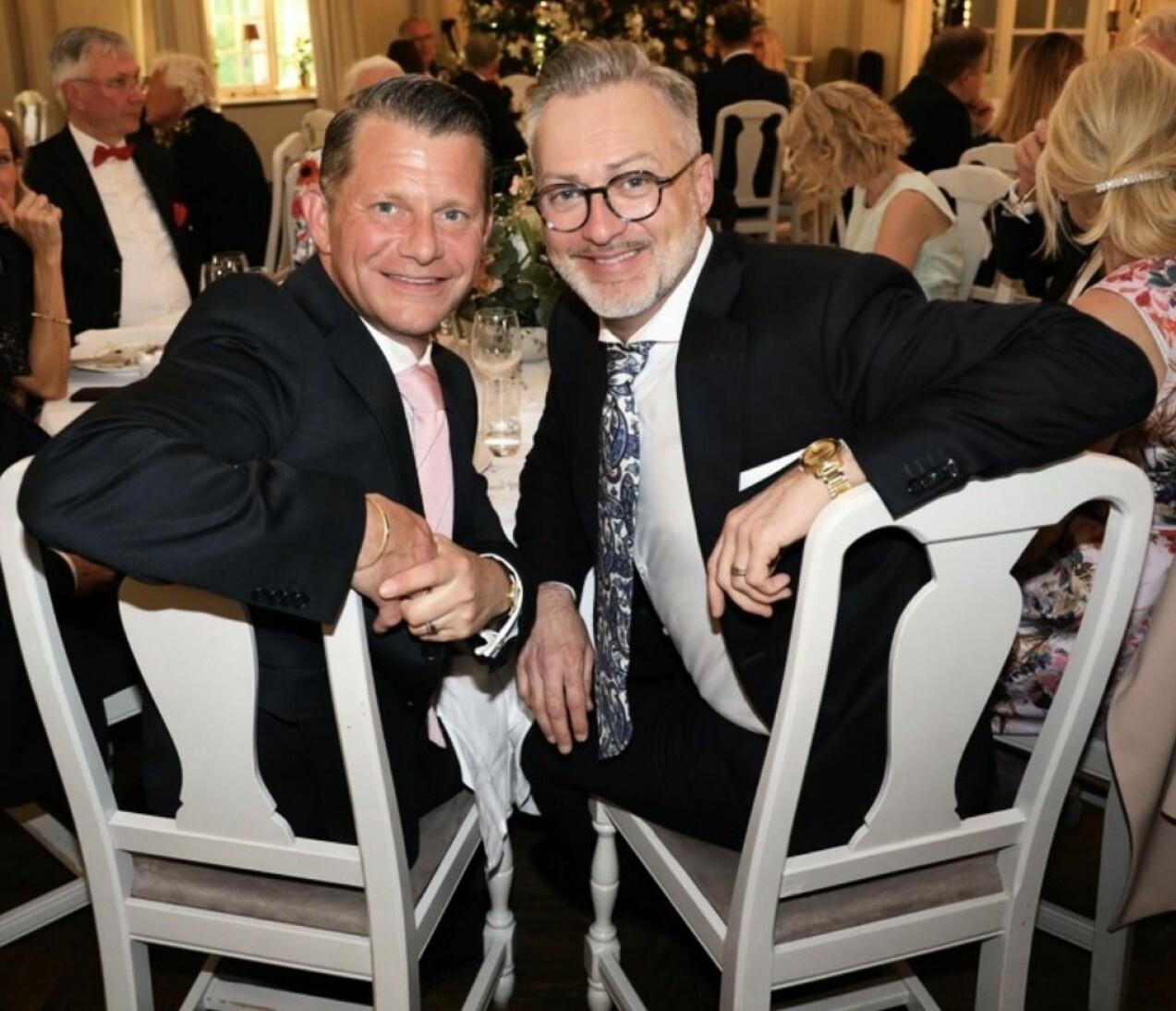 Alexander Skiöldsparr och Tony Irving
