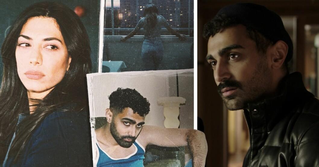 Leya och Salim i Snabba cash, Alexandra Abdallah