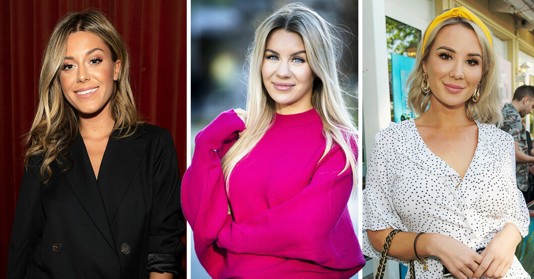 Bianca ingrosso, Alexandra Nilsson och Therese Lindgren
