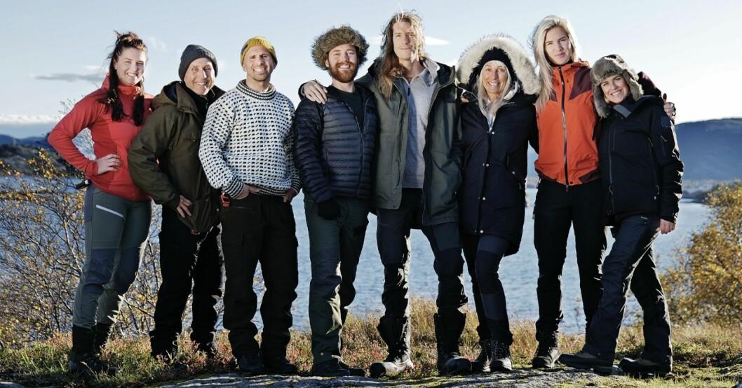 Alla deltagare i Ensam i vildmarken