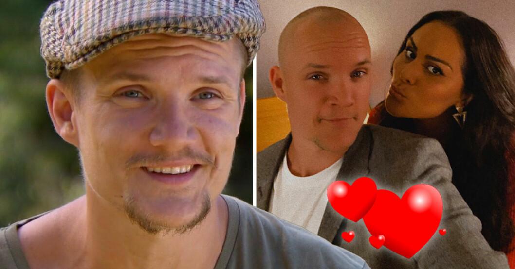 Allan Eriksson och flickvännen Norma.