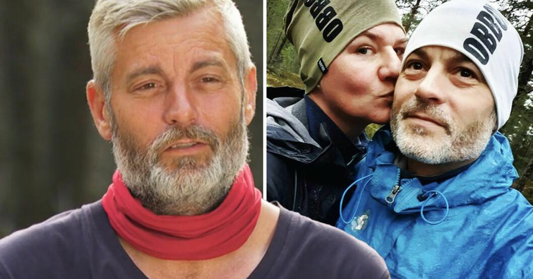 Robinson-Andreas Alseryd med frun Chersti.