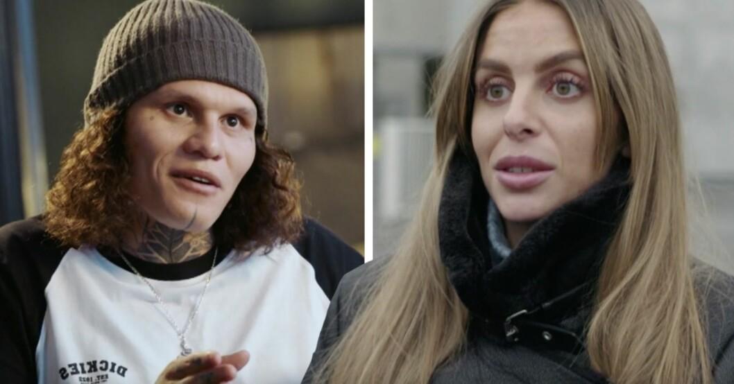 Isabella Gunnarsson Fröstrup & André från Älskar, älskar inte