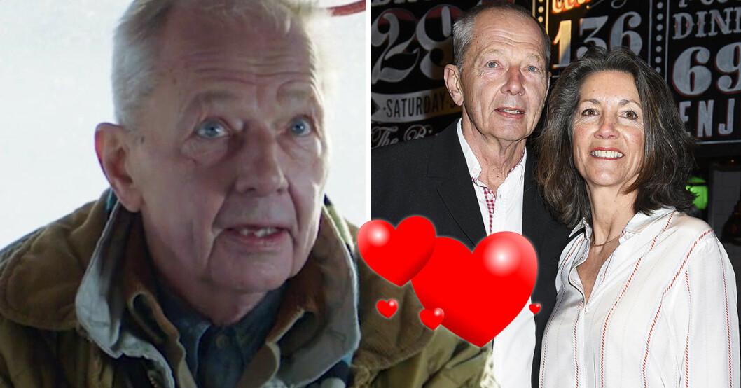 Bengt Alsterlind och frun Maj.