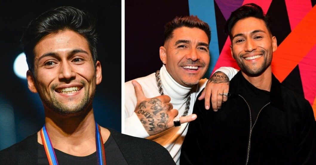 Alvaro Estrella är med i Melodifestivalen 2020, med Méndez.