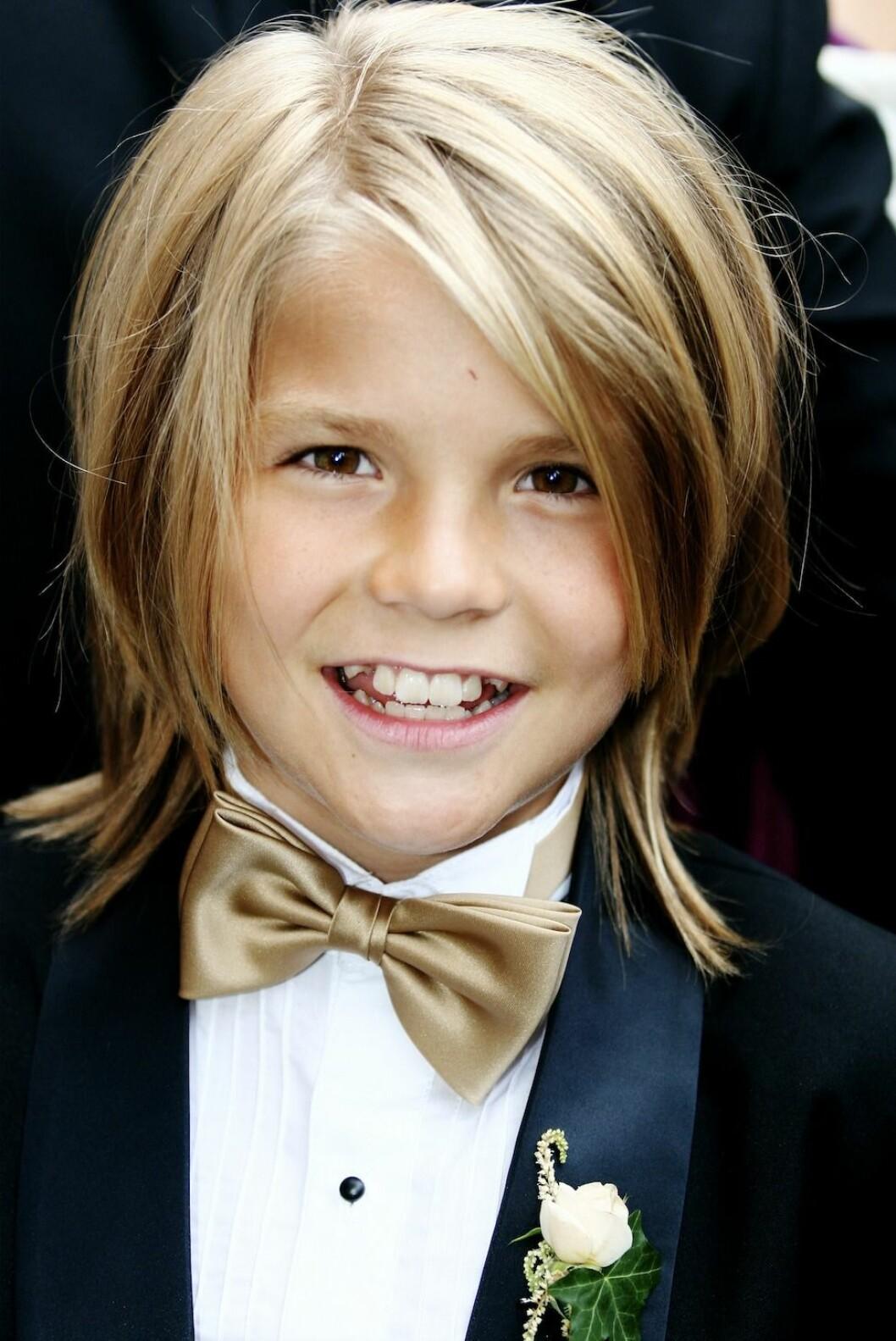 Amadeus Sögaard som liten