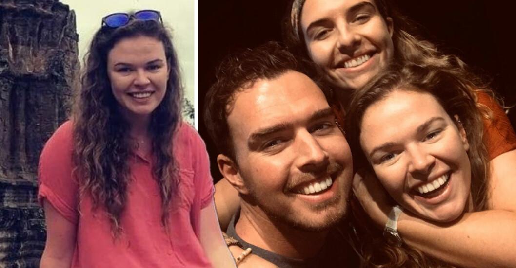 Amanda Kinsella och hennes syskon.