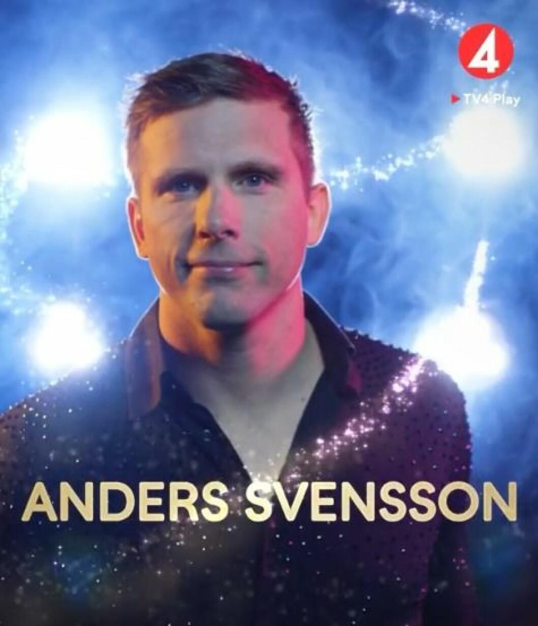 Anders Svensson är med i Lets dance 2020