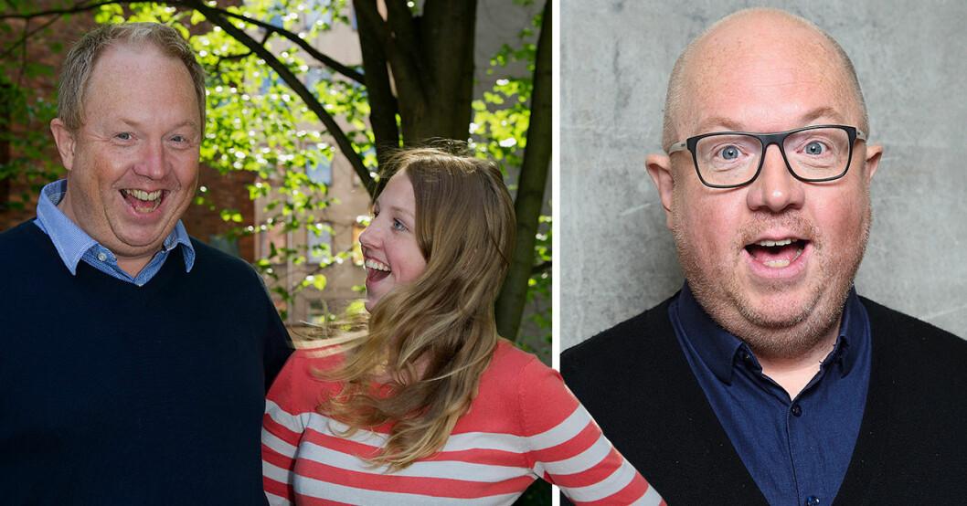 Anders Jansson och dotters Rebecca