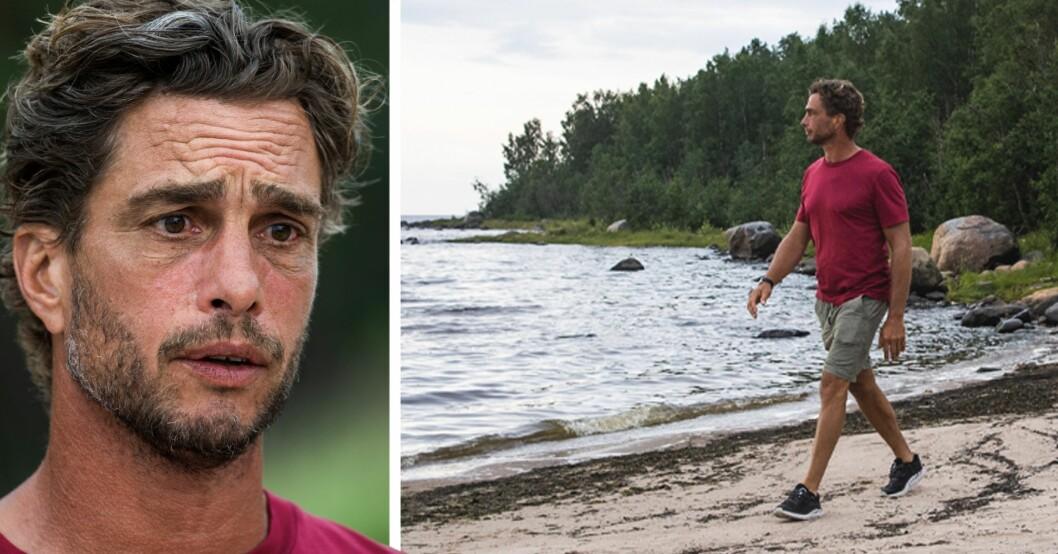 Anders Öfvergård i Robinson 2021