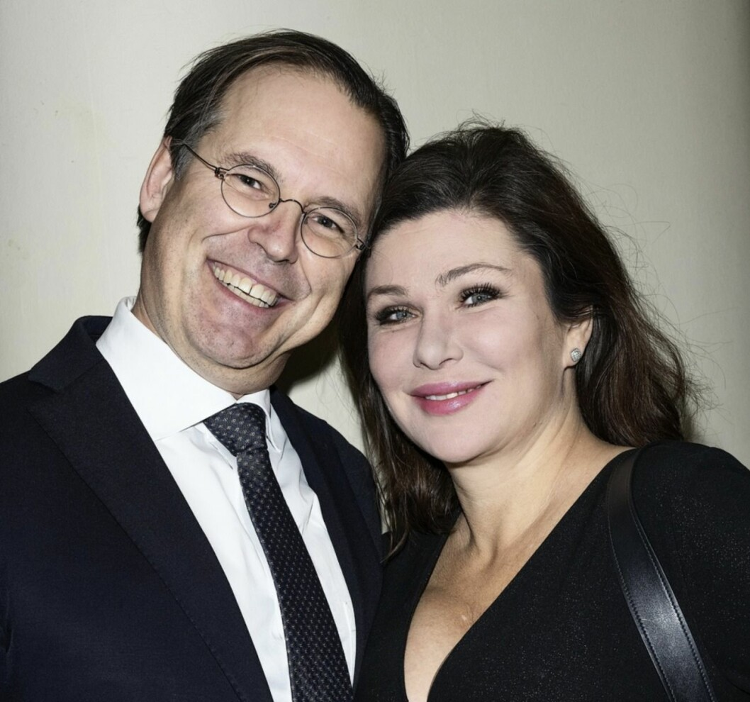 Anders Borg och Dominika Peczynski