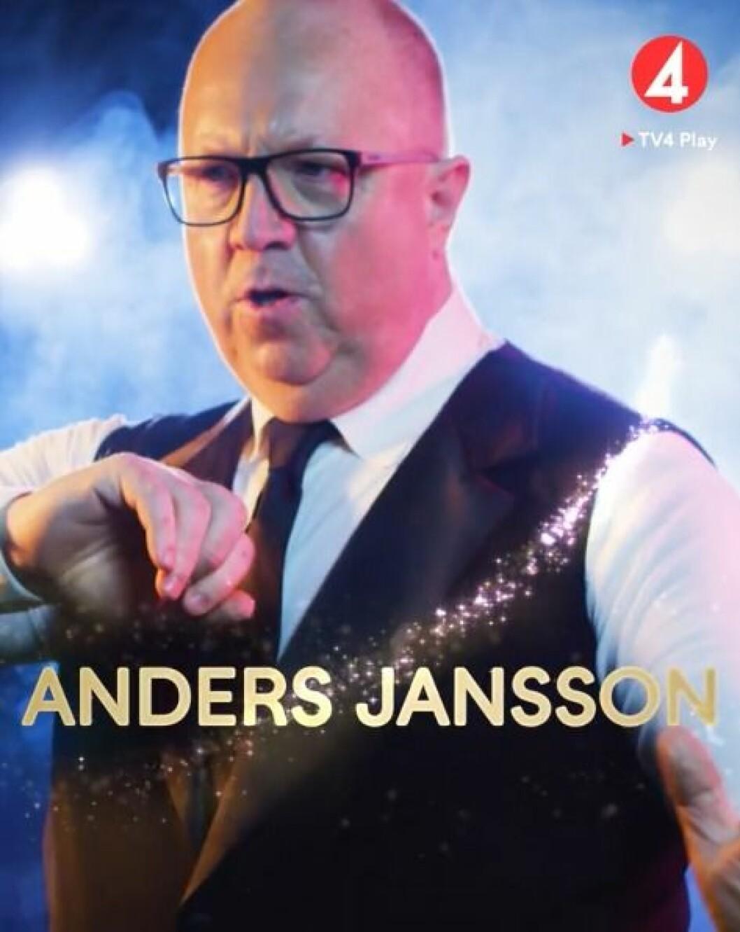 Anders Jansson i Lets dance