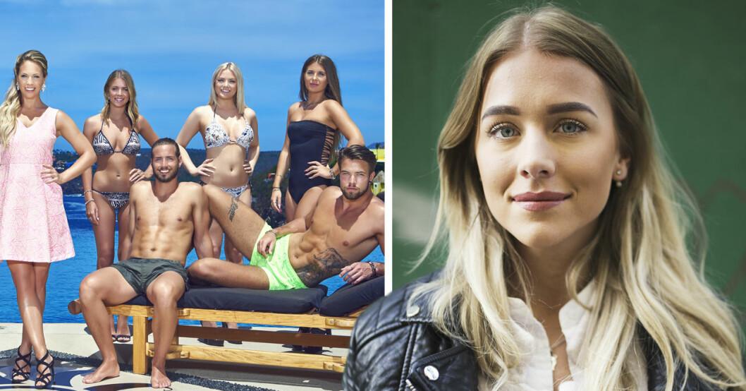 Paradise hotel-profilen Andrea Norrman är ny deltagare i TV4:s Unga föräldrar.