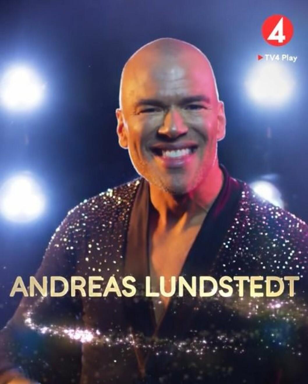 Andreas Lundstedt i Lets Dance 2020