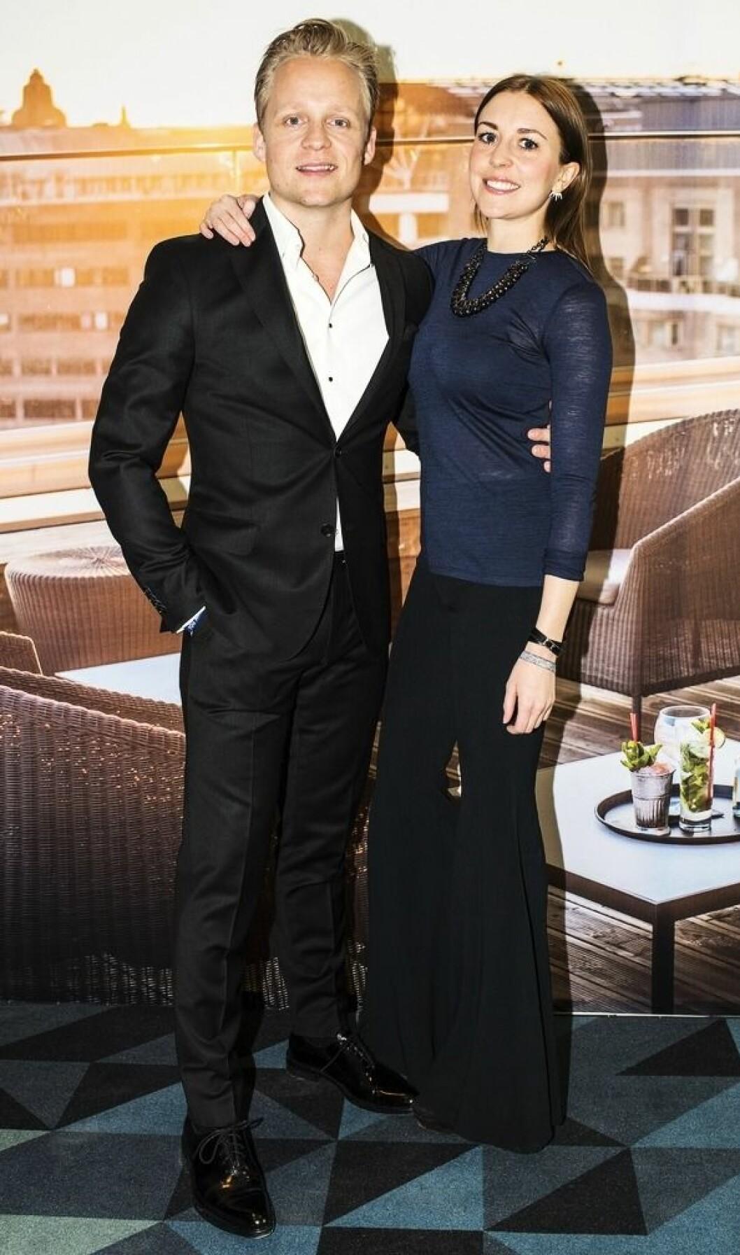 Andreas Weise och Sofie Brange