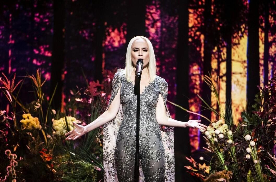 Anna Bergendahl i Melodifestivalen 2019 med Ashes to ashes
