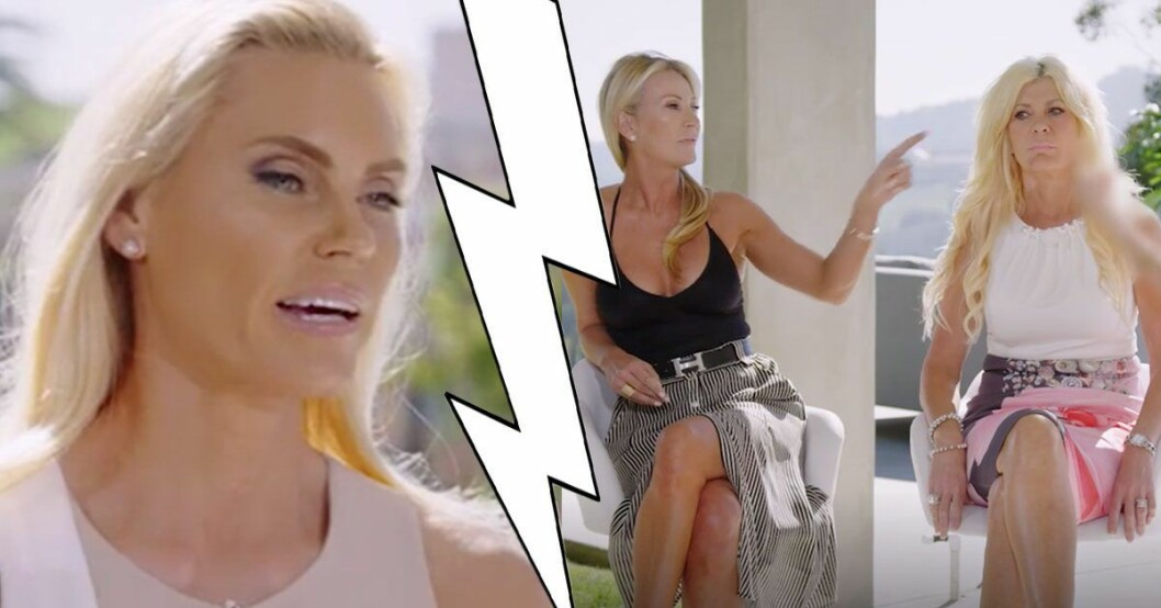Siv Cotton gör comeback i Svenska Hollywoodfruar.