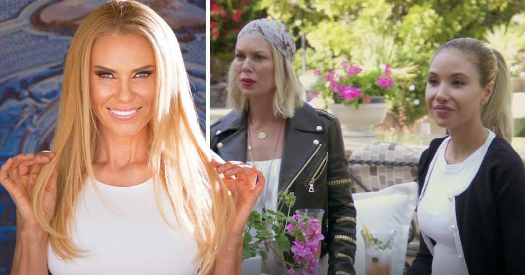 Svenska Hollywoodfrun Anna Anka går till verbal attack mot tv-kollegan Elena Belle och säger att hon ser ut som en mus!