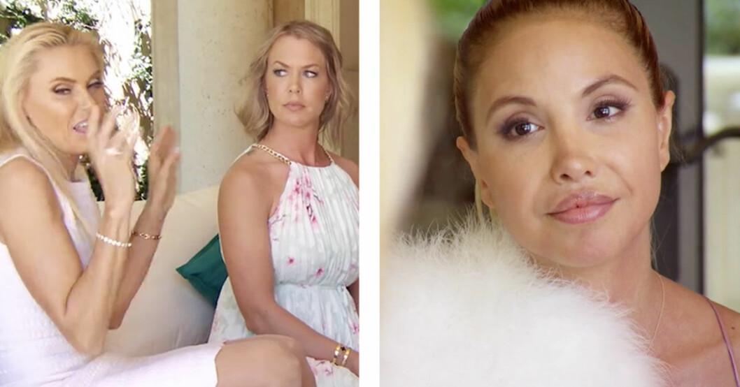 Anna Ankas storbråk med Elena Belle i Svenska Hollywoodfruar