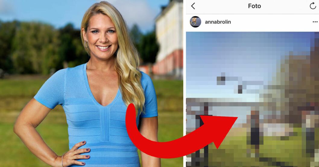 Anna Brolin leder Biggest loser VIP 2018.