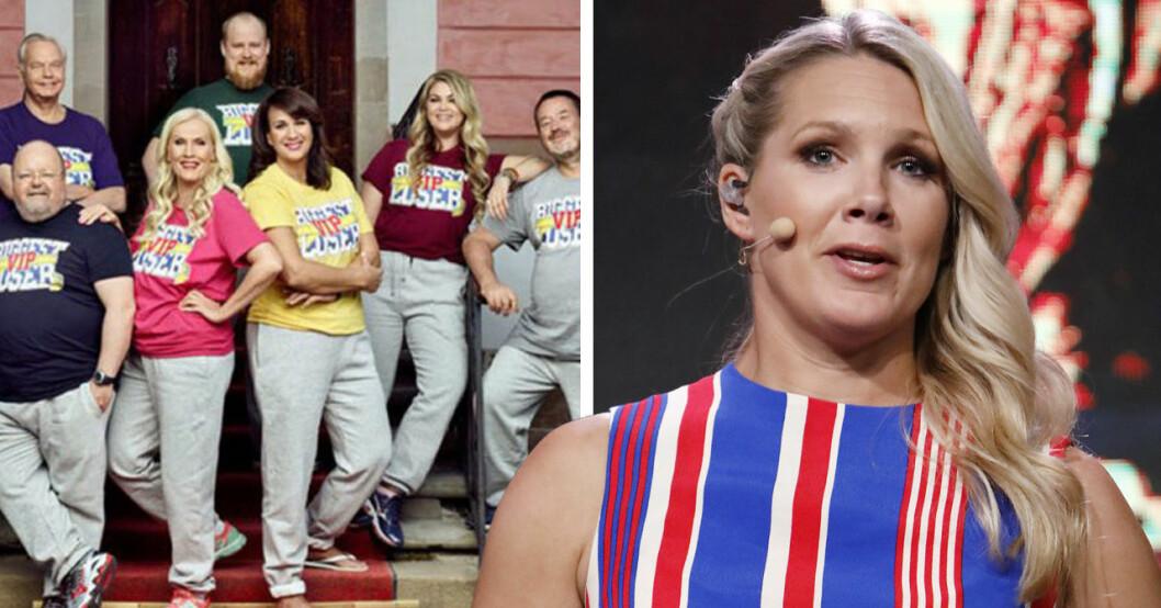 TV4 beslutar att stoppa en ny säsong av Biggest loser VIP. Programledaren Anna Brolin kommenterar saken.