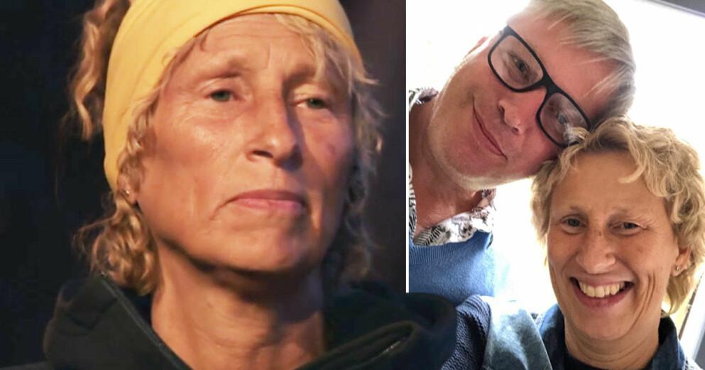 Robinson-Annki Nilsson och maken Lars.