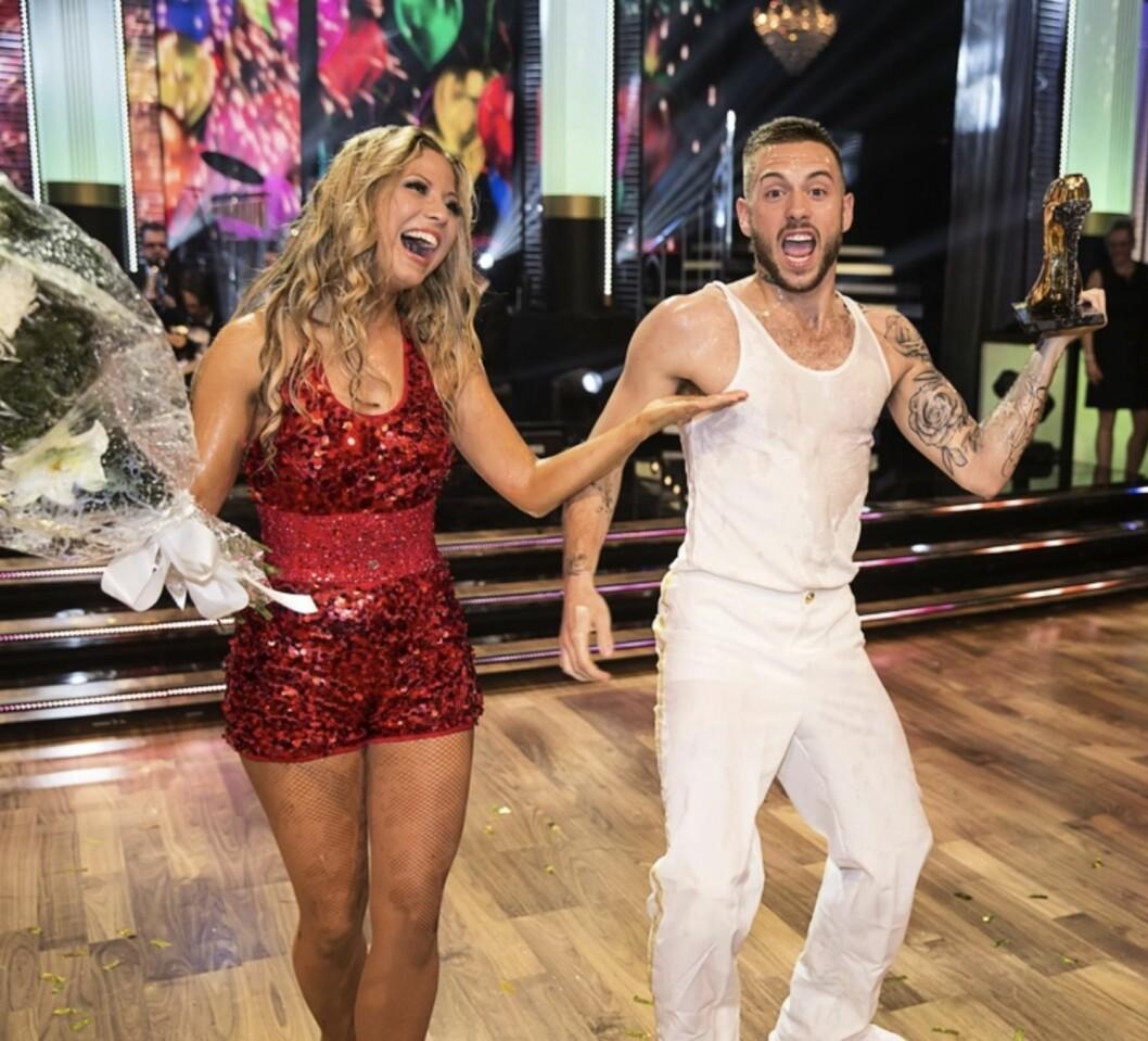 Anton Hysén och Sigrid Bernson Let's dance 10 år